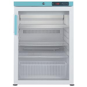 PGR151UK Under Counter Pharmacy Refrigerator 151L Glass Door
