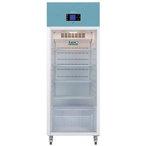Lec PGR600UK Large Capacity Pharmacy Refrigerator Glass Door